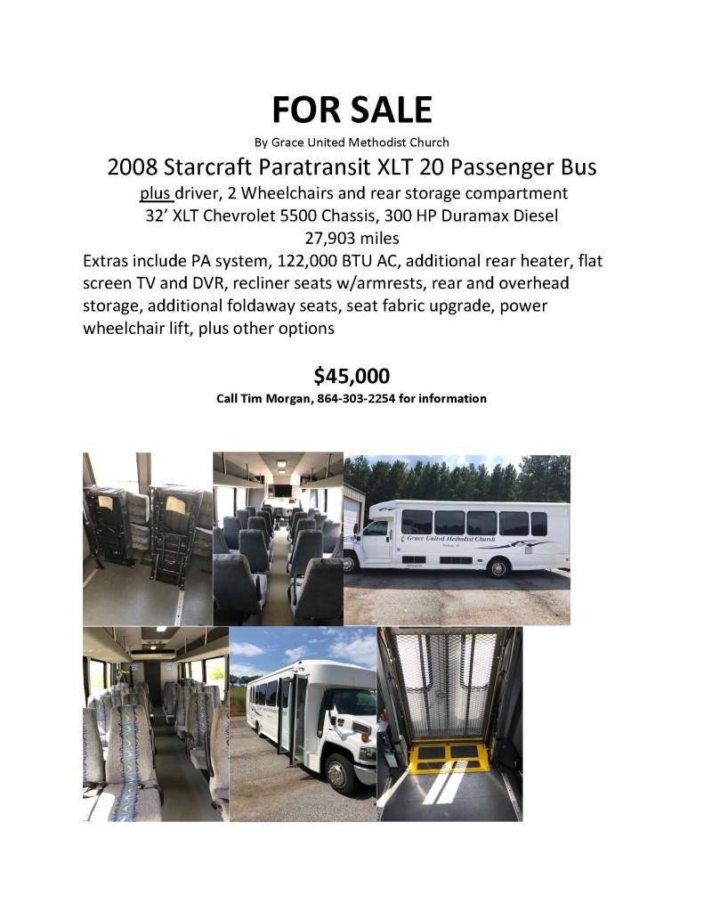 24 PASSENGER BUS FOR SALE