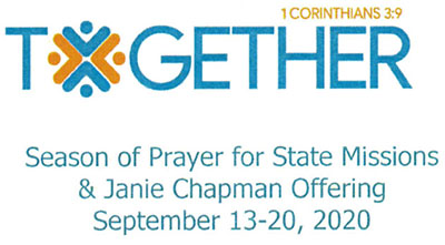 Season of Prayer for State Missions